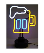 Beer Mug Neon Sculpture