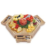 Bergamo Cheese Board - by Spectrum Imports - PSM-172
