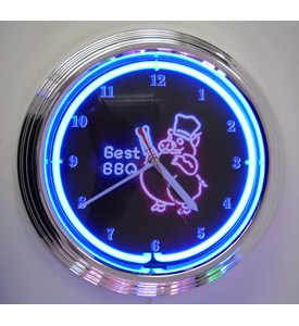 Best BBQ Neon Clock by Neonetics Image