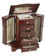Bette Wooden Jewelry Box