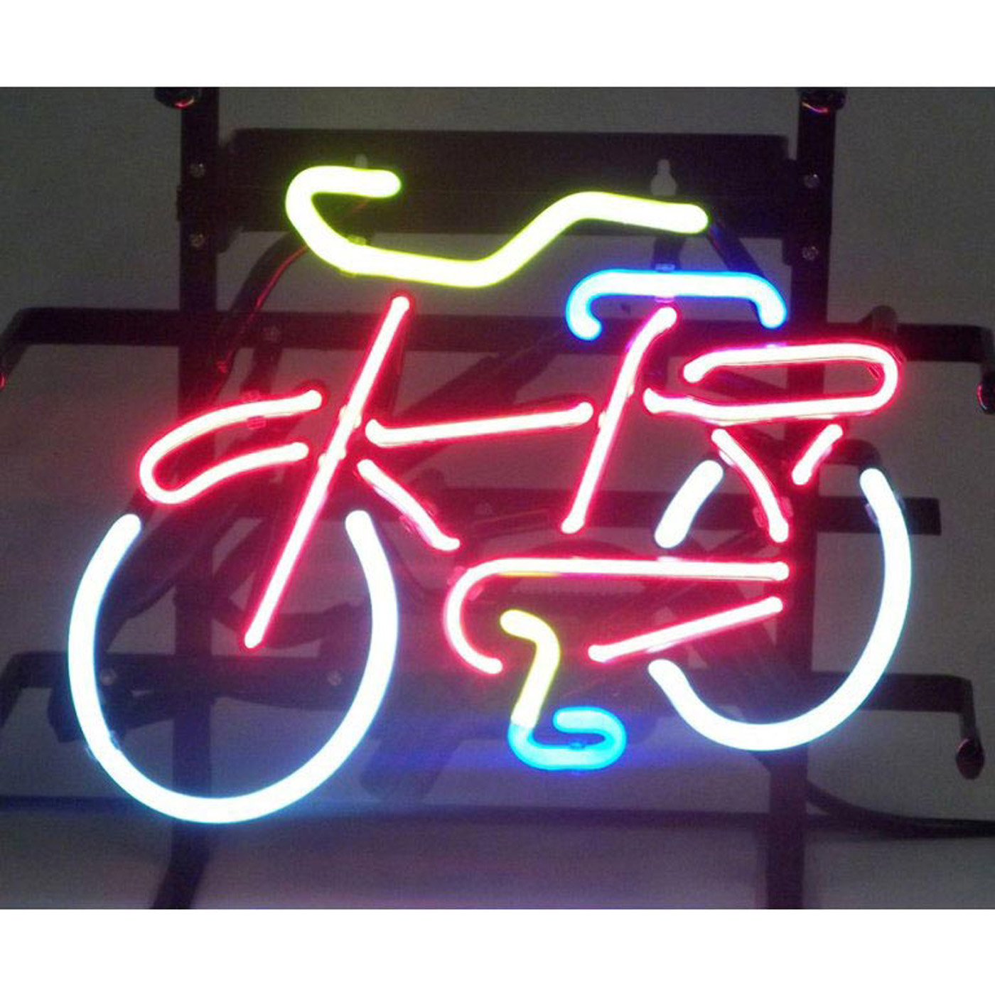 bicycle neon sign by neonetics in neon signs metal halide wiring diagram for an light fixture metal tube wiring