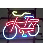 Bicycle Neon Sign by Neonetics