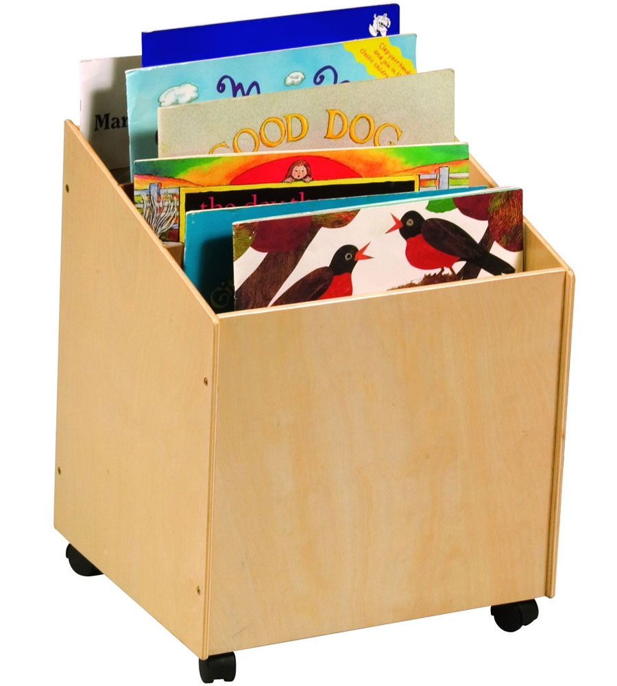 Toy And Book Storage Of Kids Book Box In Toy Storage
