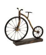 Big Wheel Bicycle Statuary by Imax