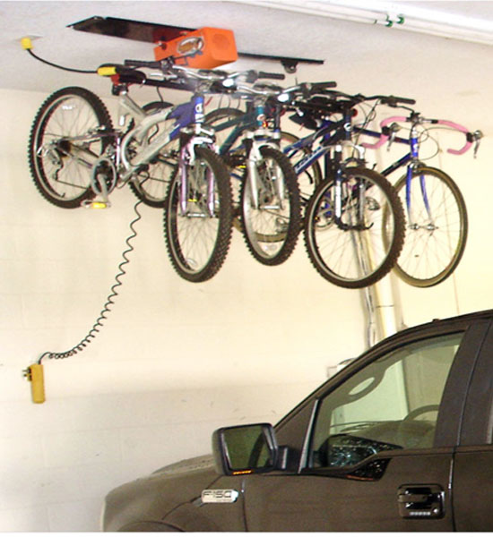 Attractive Bike Storage Solutions For The Coming Colder Months