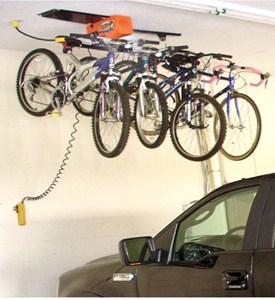 Bike Storage System - 4 Hook Image