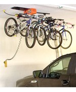 Bike Storage System - 4 Hook