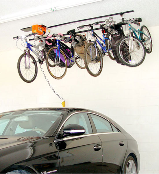 Bike Storage System   8 Hook Image