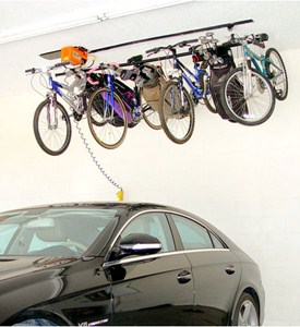 Bike Storage System - 8 Hook Image