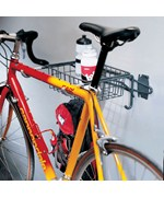 Grid or Wall Mount Bike Rack and Basket