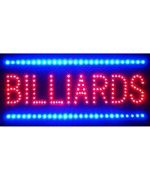 Billiards LED Wall Sign