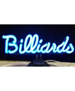 Billiards Neon Sculpture - by Neonetics