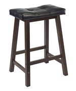 Black Cushion Counter Stool