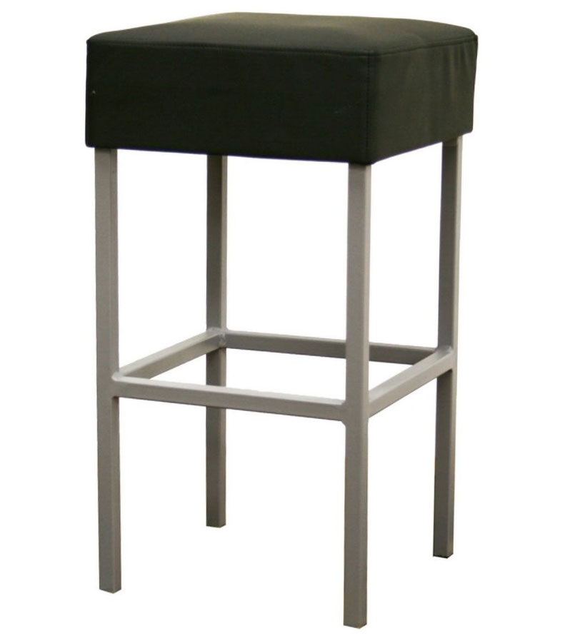 Andante Faux Leather Counter Stool Black In Counter