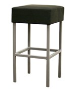 Andante Faux Leather Counter Stool - Black