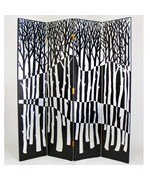 Black Forest Screen Room Divider by Wayborn