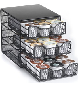 Black K-Cup Storage Drawer - Holds 36 Image