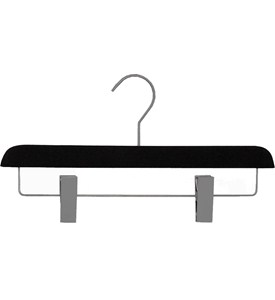 Black Non-Slip Skirt Hanger (Set of 3) Image