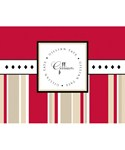 Blank Greeting Cards and Envelopes - Stripes