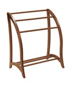 Quilt Display Stand Antique Style - Walnut