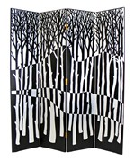 Black Forest Screen Room Divider