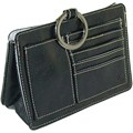 Pouchee Purse Organizer - Black Leatherette