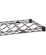14 x 36 InterMetro Wine Shelf - Black