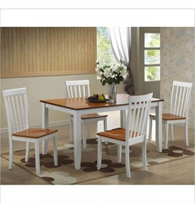 Bloomington 5 Piece Dining Set by Boraam Industries Image