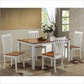 Bloomington 5 Piece Dining Set by Boraam Industries