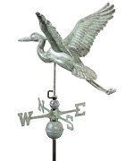 Blue Heron Weathervane - by Good Directions