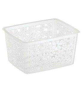 Blumz Stackable Storage Basket - Clear Image