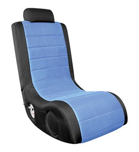 BoomChair Gaming Chair - Black and Blue Image