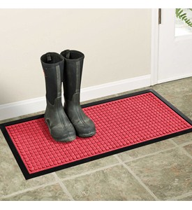 Boot Rug - Squares Image