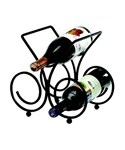 Bordeaux Three Bottle Wine Rack