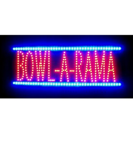 Bowl-A-Rama LED Sign - by Neonetics Image