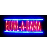 Bowl-A-Rama LED Sign - by Neonetics