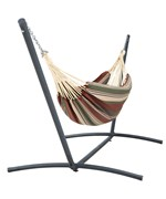 Brazillian Hammock with Steel Stand