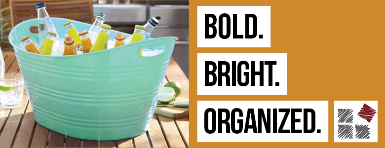Bold and Bright Organizers