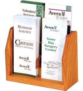 Brochure Display - 4 Pocket Image
