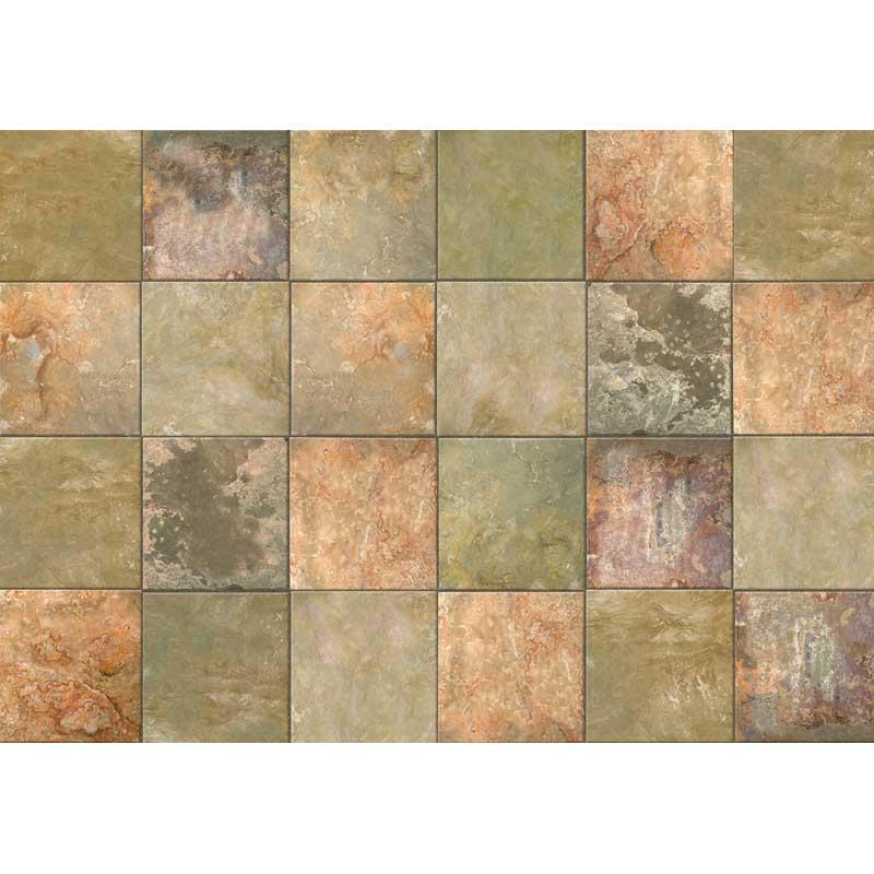 Brown And Slate Blue Living Room: Brown Slate In Patterned Rugs
