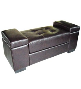 Storage Bench - Brown Image