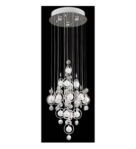 Bubbles Ceiling Light by Lite Source Image