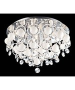 Bubbles Crystal Ceiling Light by Lite Source