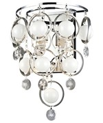 Bubbles Crystal Wall Lamp by Lite Source