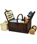 Buckingham Picnic Basket - Service for Four
