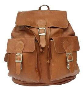 Buckle Backpack - Leather Image