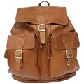 Buckle Backpack - Leather