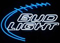 Bud Light Football Neon Sign by Neonetics