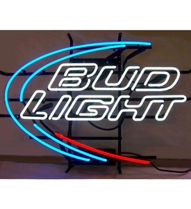 Bud Light Neon Sign - by Neonetics - 5BUDLI Image