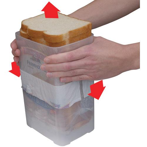 Buddeez Wide Bread Loaf Storage Dispenser Image